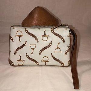 Vintage Lauren Ralph Lauren Leather Pouch Wristlet